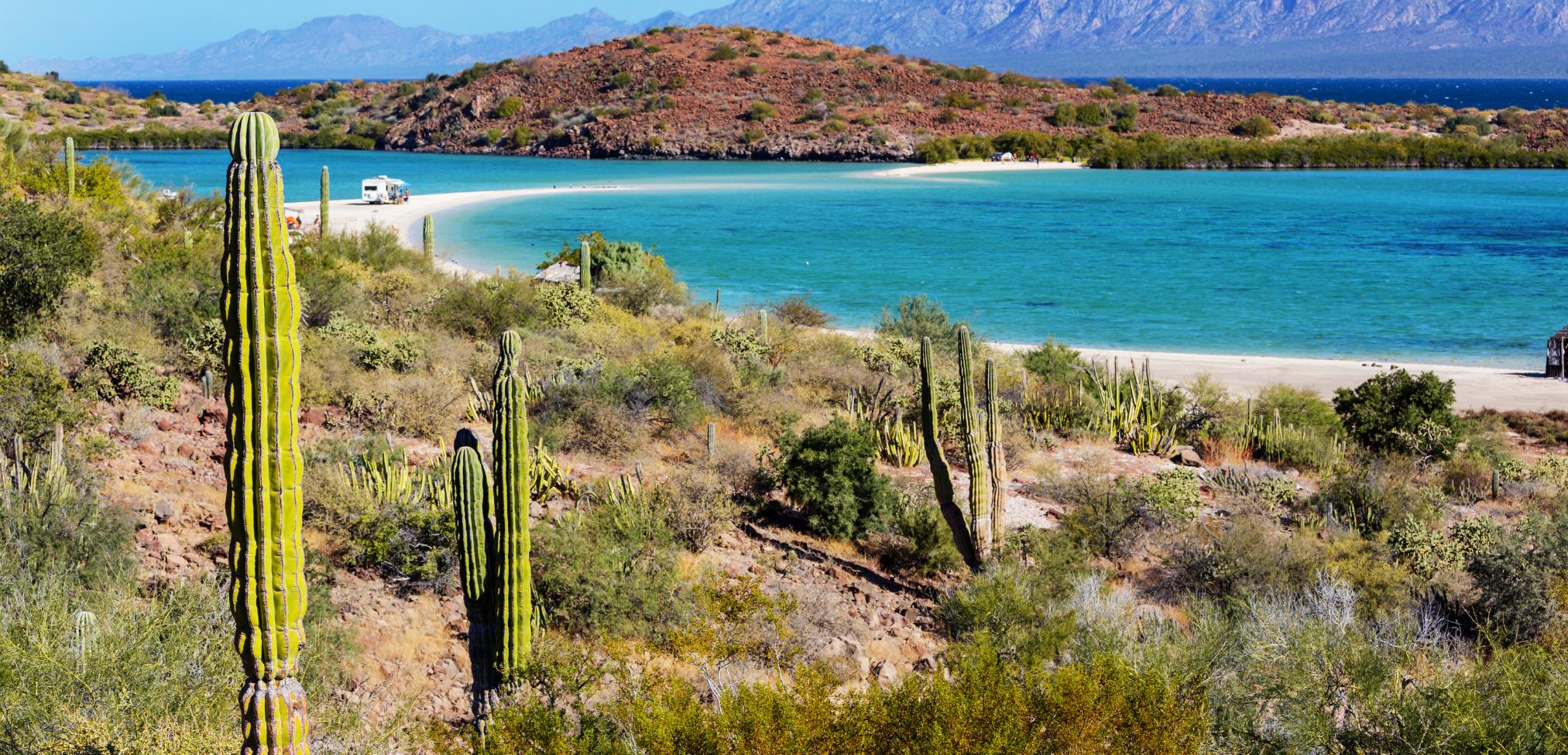 Die schönsten Reiseziele in Mexico: Baja California