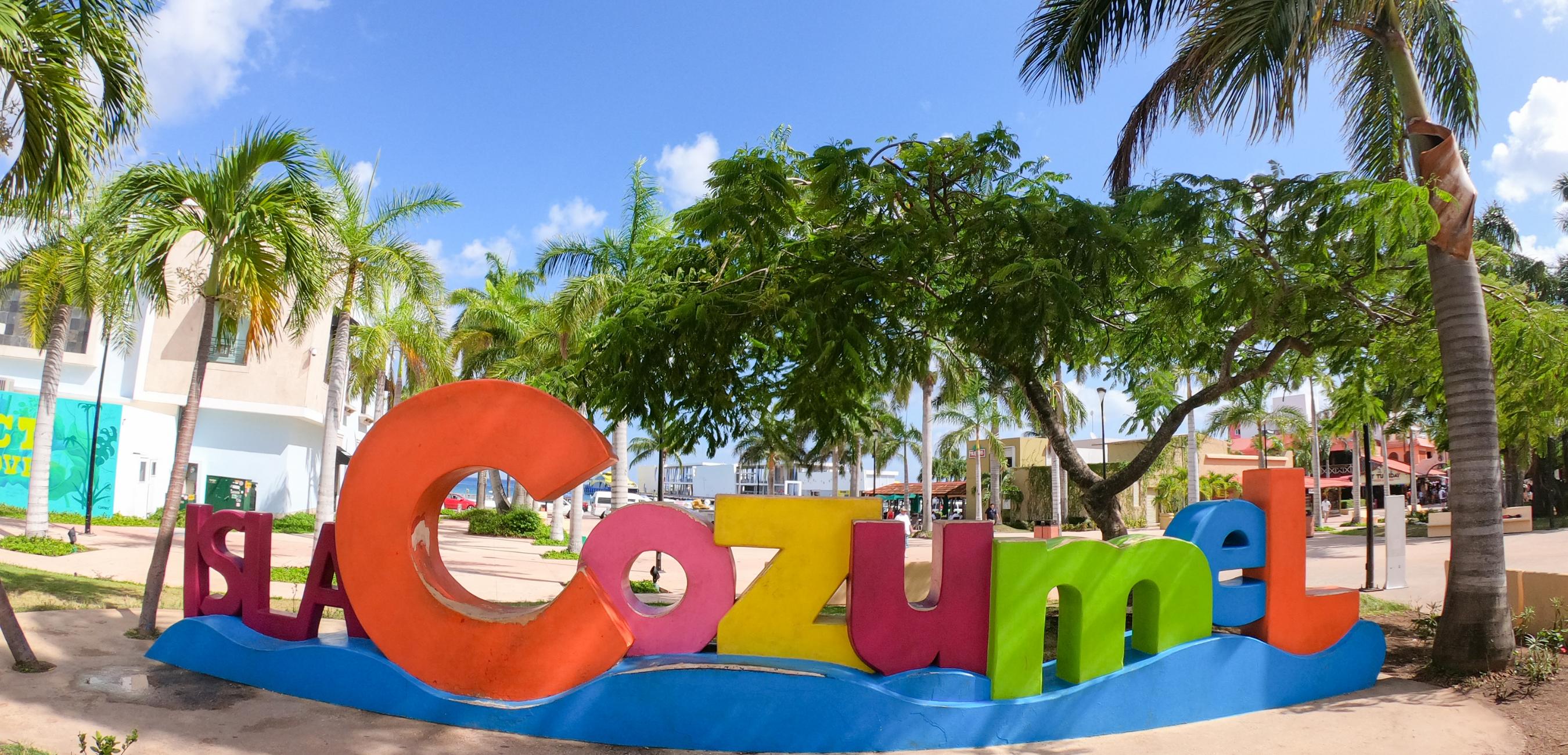Insel Cozumel in Mexiko