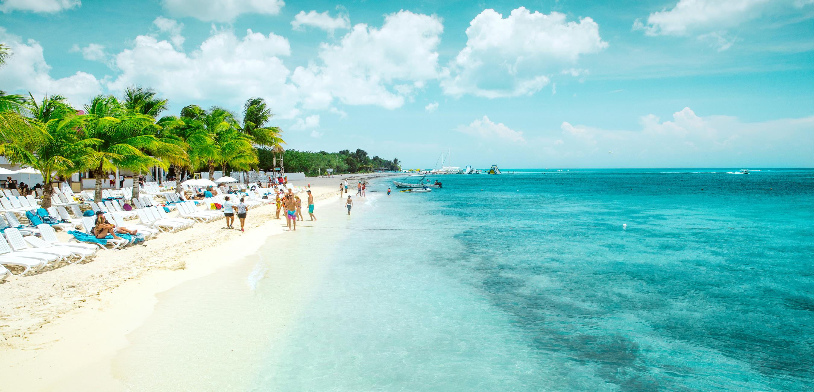 Insel Cozumel in Mexiko: Strände