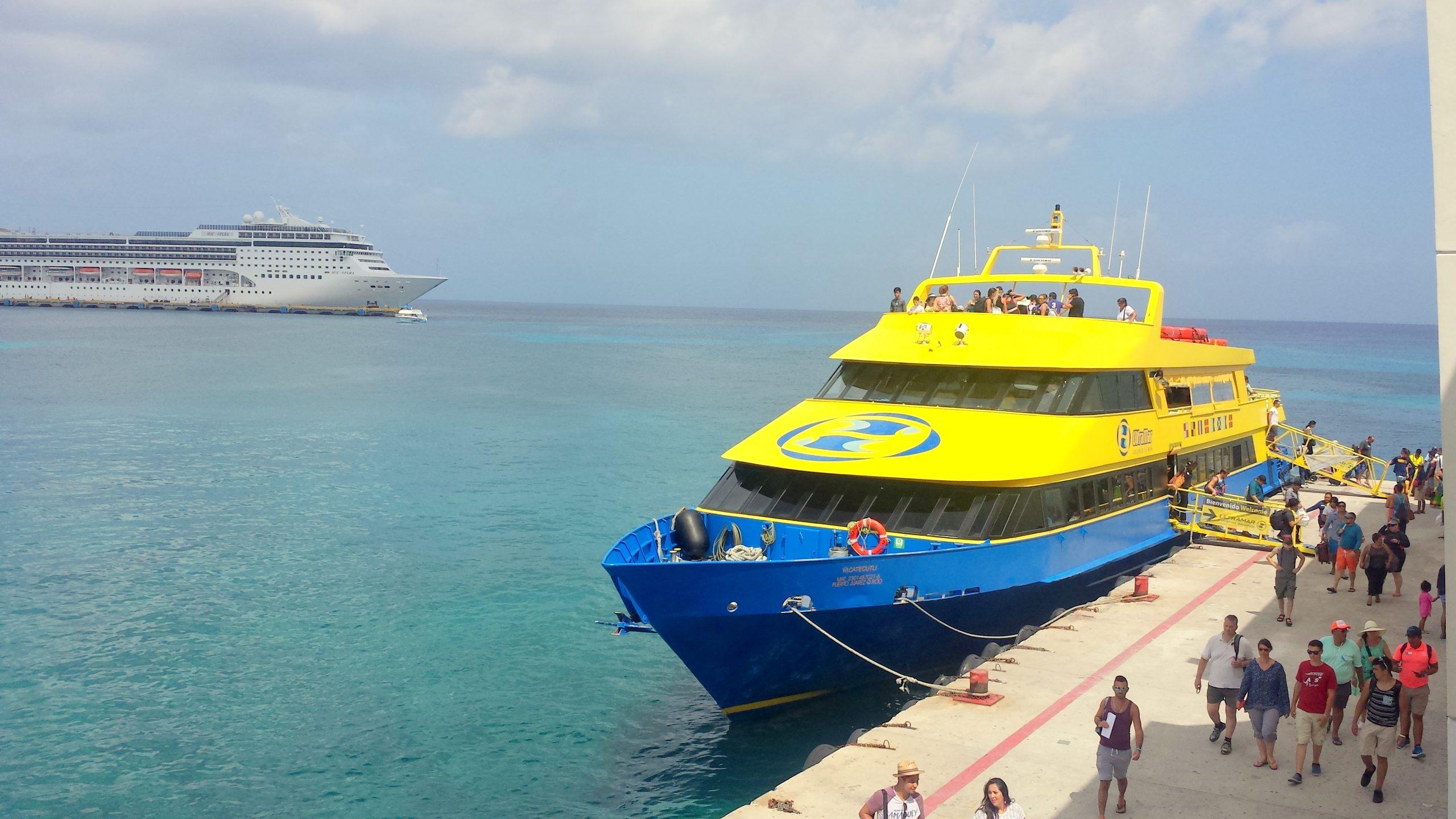 Insel Cozumel: Fähre