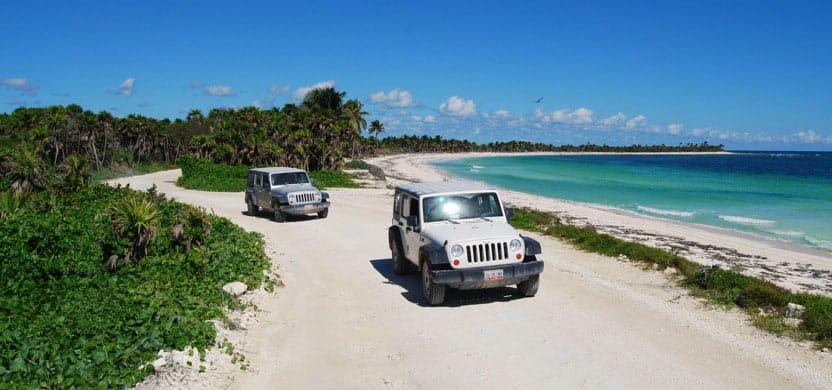 Insel Cozumel: Jeeptour