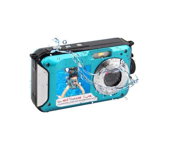 Unterwasserkamera blau