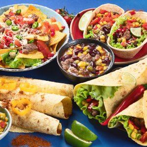 Essen und Salsas