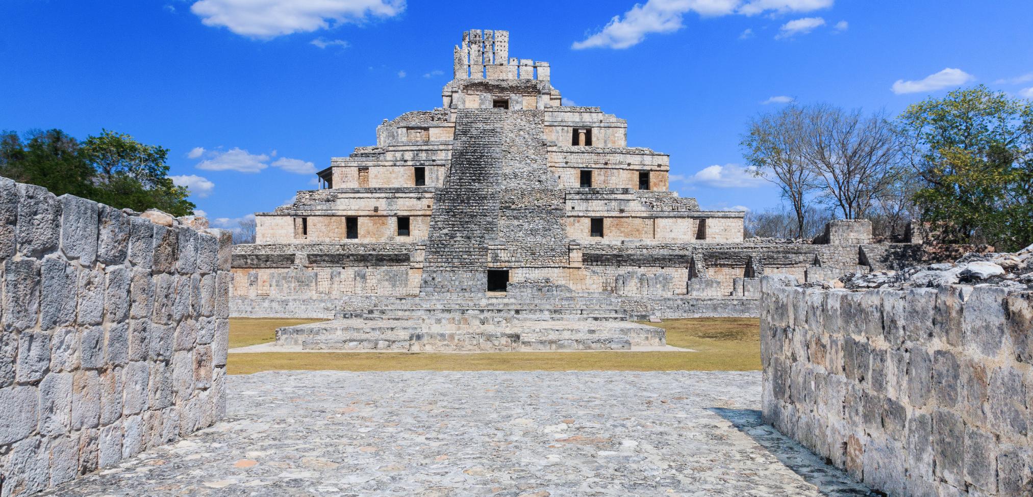 Die schönsten Maya Ruinen in Mexiko: Edzna