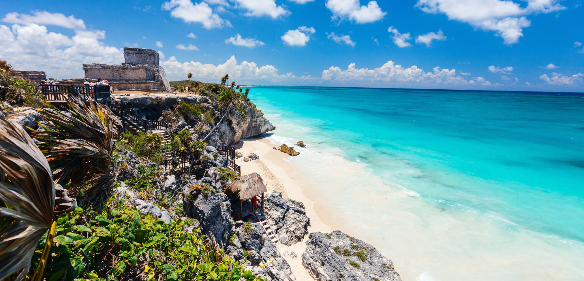 Tulum die schönsten Maya Ruinen in Mexiko