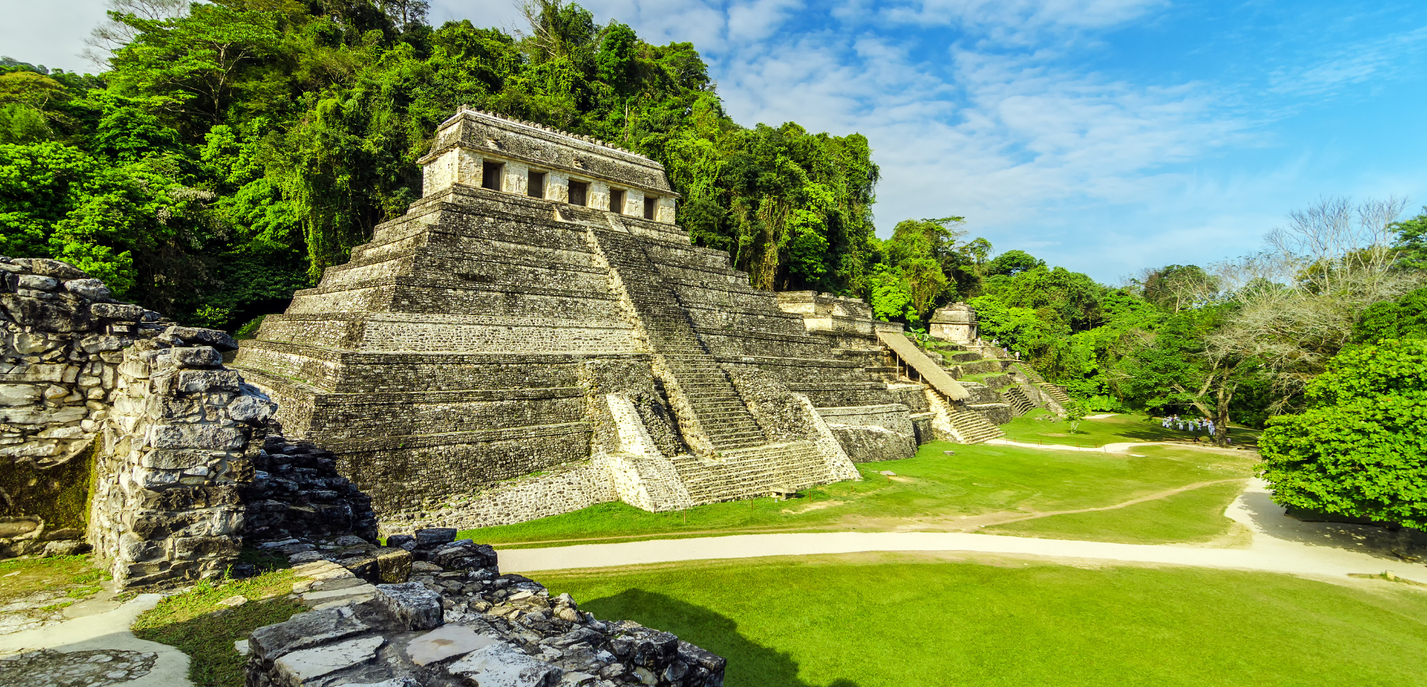 Maya Ruinen in Mexiko: Palenque
