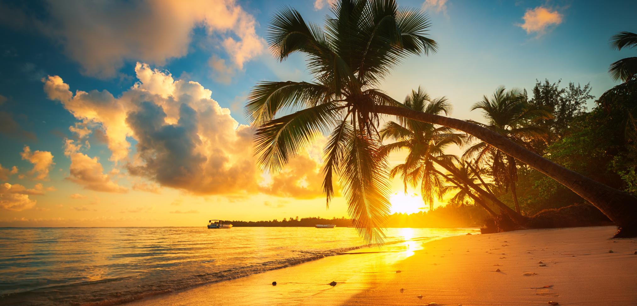 Sonnenuntergang Dominikanische Republik Sehenswürdigkeiten