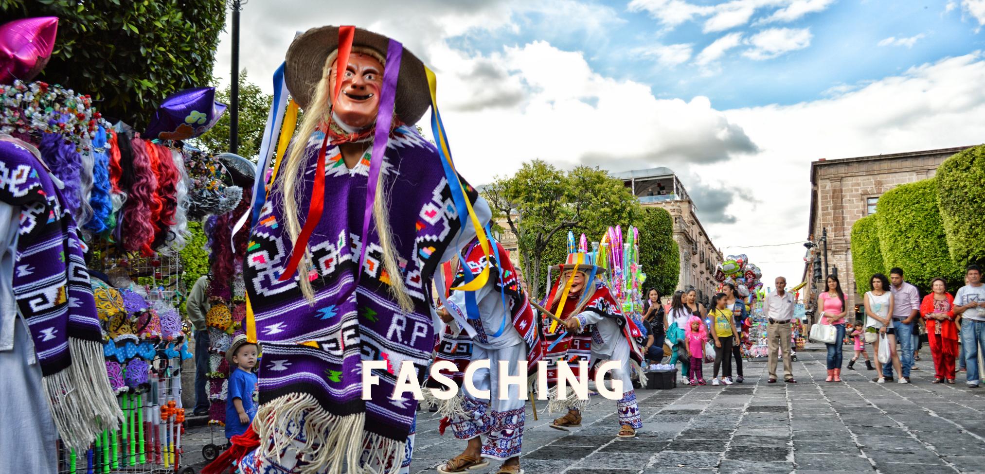 Aktivitäten in Mexiko: Fasching